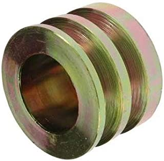 """New Pulley, Compatible with 2-Grooves, 0.67"""" / 17mm ID, 2.87"""" / 73mm OD, Delco / 1877007, 3947125/24-1102/202-12003"""