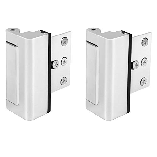 QWORK Security Door Lock, 2 Pack 3