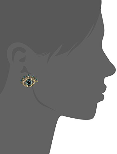 Betsey Johnson Eye Stud Earrings