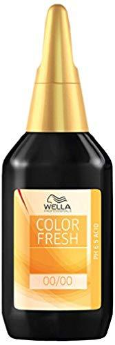 Wella Color Fresh Glanz-Tönung 6/ 34 dunkelblond gold-rot, 2er Pack, (2x 75 ml)