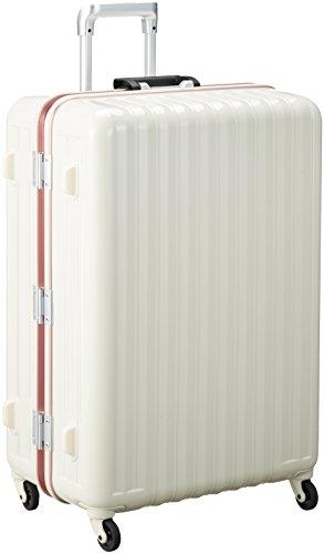 [バウンドリップ] スーツケース 受託手荷物無料サイズ 大容量 軽量素材 ブレーキ機能 BD88 保証付 105L 74 cm 5kg アイボリー