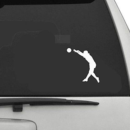 12,9x13,8 cm Beach Volleyball Decor Auto Aufkleber s Sto?stange Fenster Zubeh?r Extreme Bewegung für Auto Laptop Fenster Aufkleber