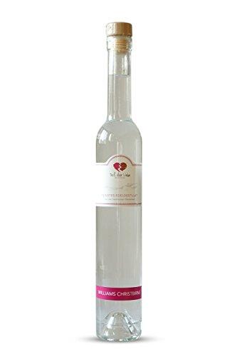Williams-Birnen-Schnaps von Tal der Liebe, Edelbrand aus vollreifen Williams Birnen, 350ml, 40% vol, Obst-Destillat für den anspruchsvollen Gaumen Tal der Liebe