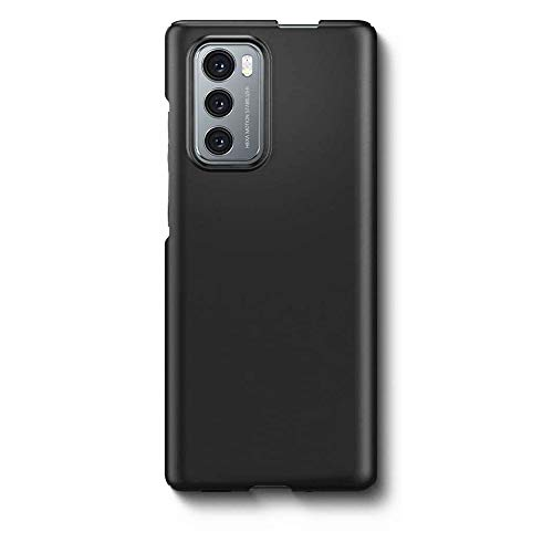 for LG Wing Phone Case - Slim Shockproof PC Black Protective Case Cover for LG Wing 5G Phone
