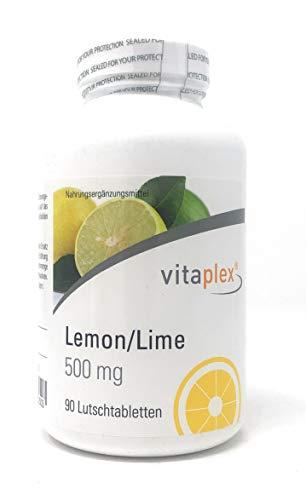 Vitaplex Lemon/Lime Vitamin C 500 mg 90 Lutschtabletten
