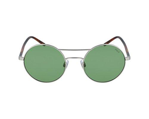 Ralph Lauren POLO 0PH3108 Gafas de sol, Aged Silver, 51 para Mujer