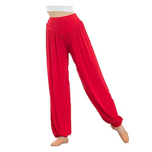 N\P Las mujeres Elásticos De La Pierna Ancha Flare Pantalones Leggings De Cintura Alta Pantalones Drapeado Jogger Pantalones Correr