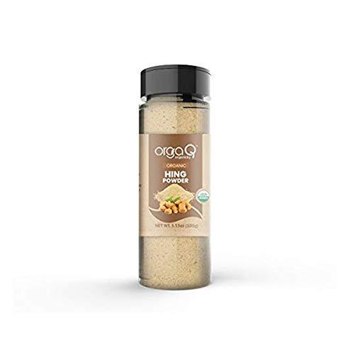 Orgaq Organicky Organic Hing (Asafoetida) Powder - 100 Grams