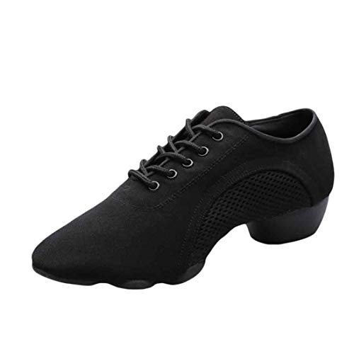 Yefree Zapatillas de Baile con Suela Dividida para Hombres Zapatos