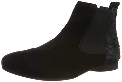 Think! Damen Guad_585287 Chelsea Boots, Schwarz (Sz/Kombi 09), 38.5 EU