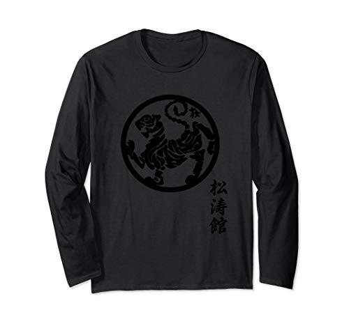 Karate Shirt Shotokan, Shotokan Tiger, Shotokan T Shirt Langarmshirt