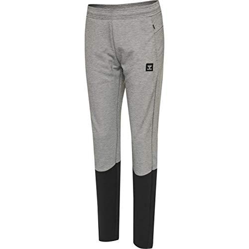 Hummel Damen Trainingshose Essi Tapered Pants 206266 Grey Melange XL
