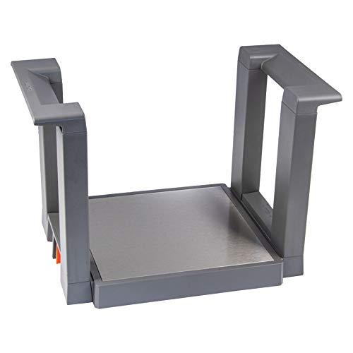Gedotec Tellerständer AMBIA-LINE - Orga-Line Schubladeneinsatz Tellerhalter für Schubkasten | Blum ZC7T0350 | hochwertig für Teller - Geschirr im Küchen-Schrank | 1 Stück - Schubladen-Organizer