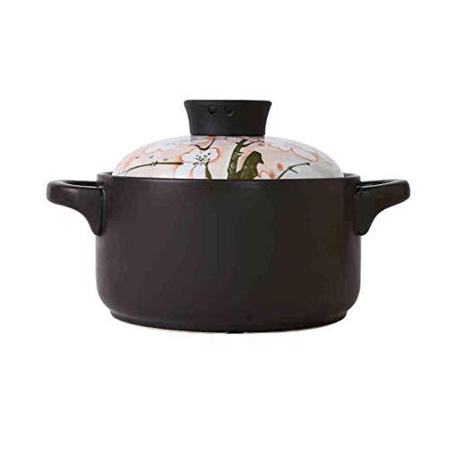 Diaod Cerámica Cazuela, cazuela de cerámica, Resistente a Altas temperaturas, Estilo japonés Olla de Barro Rice crisol de la Sopa Olla pequeña cazuela