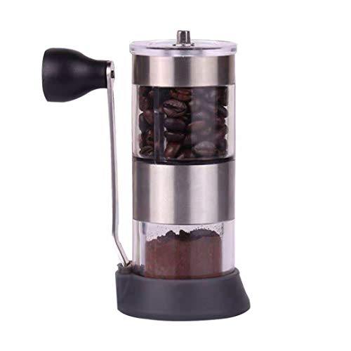 Sweet Dream New Upgrade Manual Coffee Grinder, Adjustable Stainless Steel for Travel, Conical Burr Mill & Brushed Stainless Steel, French Press, excellent quality