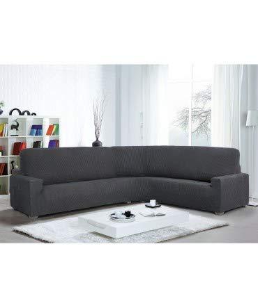 10XDIEZ Funda Sofa rinconera Glamour - Color - Gris