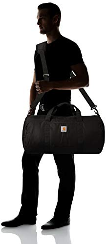 Carhartt Trade Series 2-in-1 Packable Duffel with Utility Pouch, Black Georgia