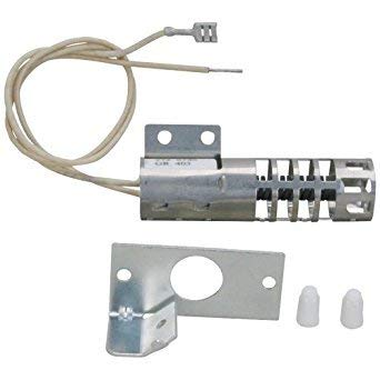 (KS) WB2X9154 WB13K4 WB13K3 WB13K10027 WB13K1 Round Ignitor Ignter Exact Replacement for General Electric Hotpoint Roper Kenmore Gas Range Oven Stove