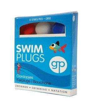 Get Plugged Swim Plug. Ohrenstöpsel zum Schwimmen. Gehörschutzstöpsel für Kindern. 3 Paar