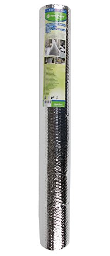 Floraworld 012159 Luftpolsterisolierfolie Thermo Comfort, Silber, 500 x 100 x 100 cm