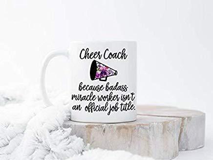 Taza divertida para entrenador de animación, animadora de entrenador, regalo de animador, regalo de entrenador, regalo de animador, regalo de entrenador, regalo de animación, taza de entrenador, regalo de animación, taza de entrenador para hombres, mujeres, amantes, familia, jefes amigos, taza de té, 325 ml, color blanco
