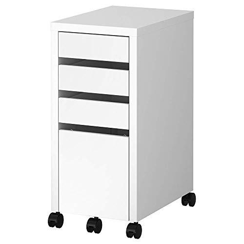 IKEA MICKE - Cajonera para archivos, color blanco