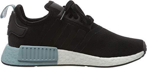 adidas Damen NMD_r1 W Gymnastikschuhe, Schwarz (Core Black/Core Black/Ash Grey S18 Core Black/Core Black/Ash Grey S18), 43 1/3 EU