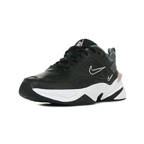 Nike W M2K Tekno, Zapatillas de Atletismo Mujer, Multicolor (Black/Plum Chalk/Dark Grey/Summit White 011), 40 EU