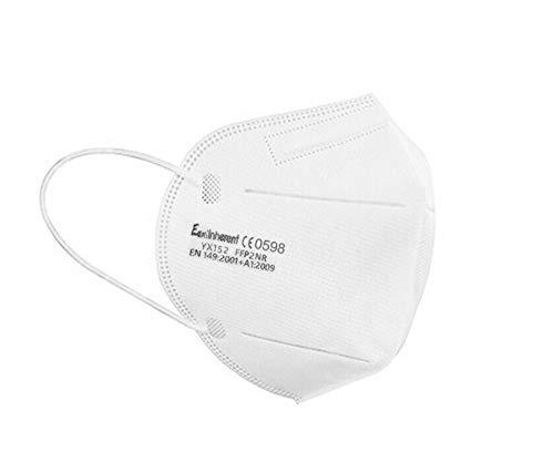 10X FFP2 NR EN149:2001 CE Zertifiziert Mundschutz Atemschutzmaske Filter Masken Mund-Nasen-Bedeckung