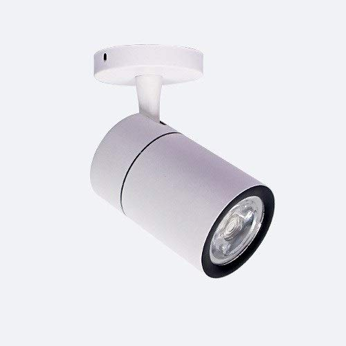 Bwldma Modernable Ajustable 360 ° COB Spotlights Minimalista Focos montados en la Pared Nordic Fondo Ventana DE LA Ventana LED LED Downlights Commercial Tienda de Ropa Tienda de Ropa Cafe Spotlight