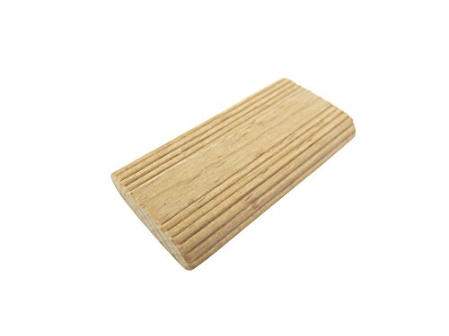Taytools 250 Pack 6mm x 40mm x 20mm Beechwood Loose Tenons Compatible with Domino Loose Tenon Joinery System