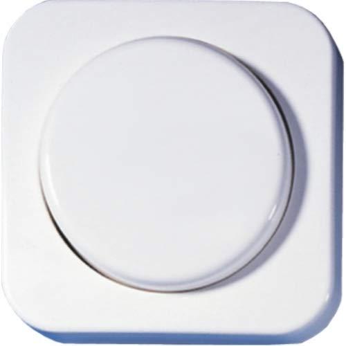 OPUS® 1 Abdeckung für Dreh-Dimmer und Potentiometer Farbe alpinweiß