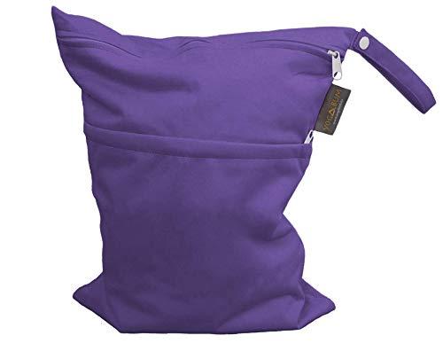 Yogabum Hot Yoga Borse - Borsa Wet Impermeabile (Purple)