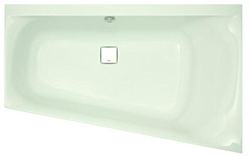 Hoesch THASOS Trapez-Badewanne 1750 x 1100 mm, rechts weiß