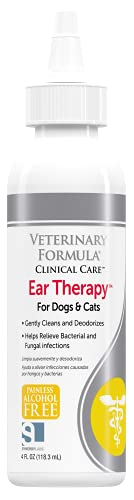 Veterinary Formula Clinical Care Ear Therapy, 4...