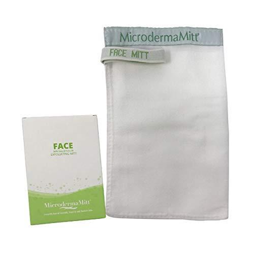 MicrodermaMitt Deep Exfoliating Face Mitt Firming Dry Skin...