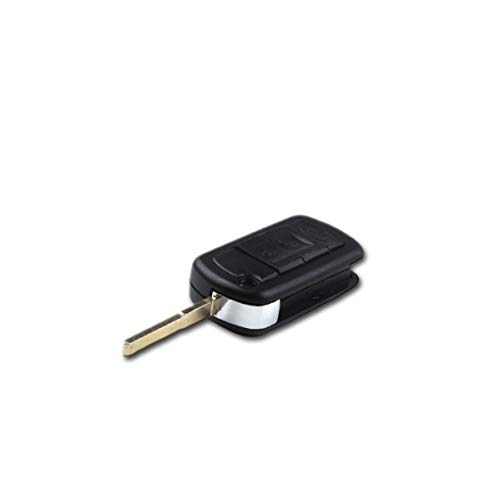 1neiSmartech Guscio Scocca Cover Telecomando 3 Tasti Ricambio Compatibile Per Auto Land Rover Range Rover Sport Discovery 3 Tdv6 Chiave Completa di Guscio E Lama
