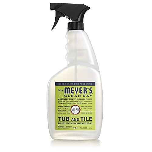 Tub & Tile Cleaner, Lemon Verbena 33 Oz by Mrs Meyers (Pack of 2)