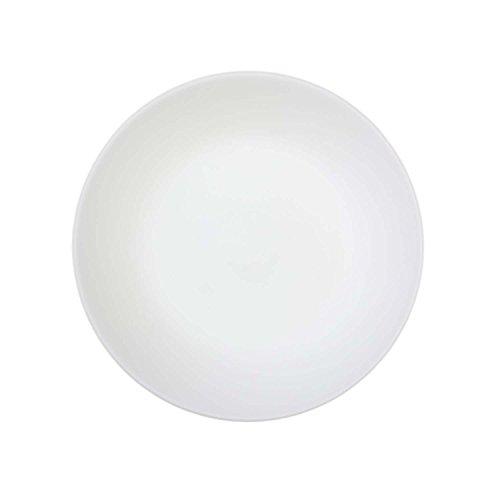 CORELLE - Plato para el Pan y la Mantequilla, de Vidrio Vitrelle, Modelo Winter Frost Blanco, 17 cm, Paquete de 6