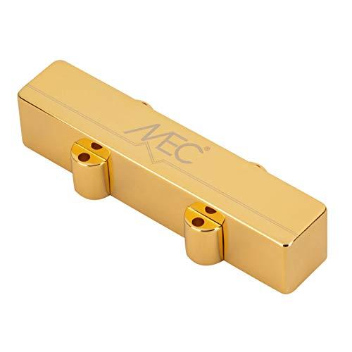 MEC Active J-Style - Pastilla para bajo (pantalón corto, cubierta metálica, 4 cuerdas, color dorado