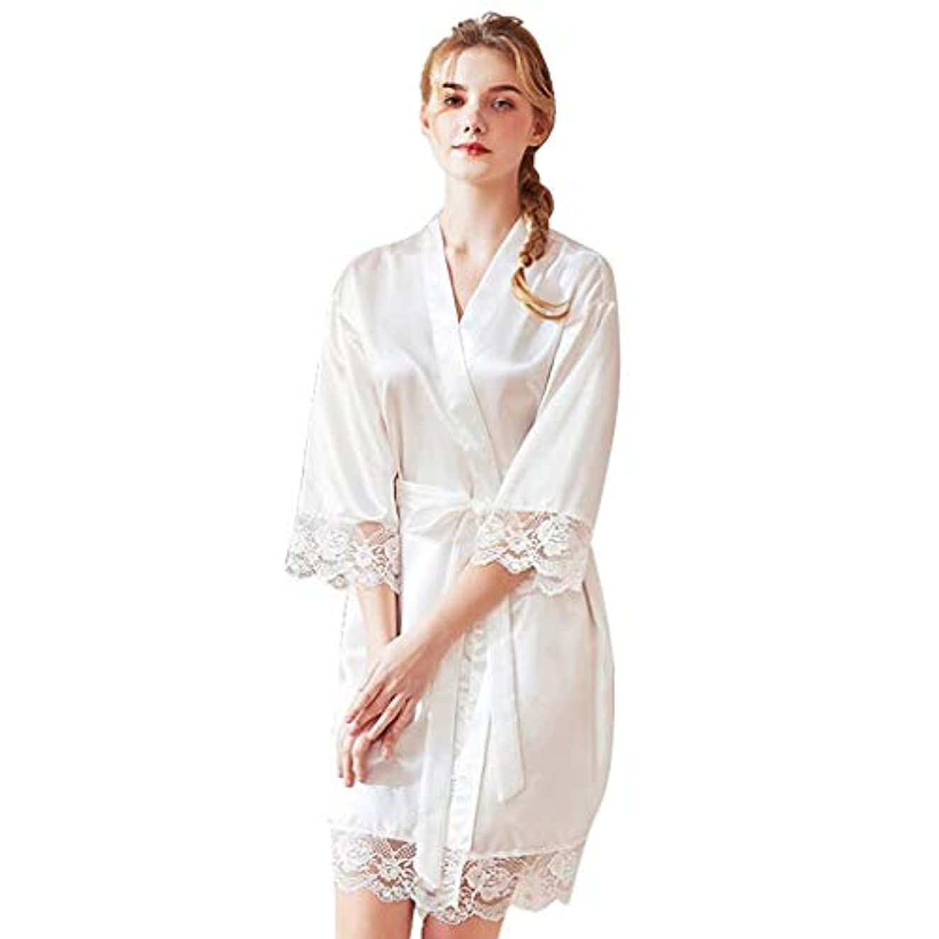 Topgee Women Bride Dressing Gown Silk Ladies Pajamas Lingerie Robe Bathrobe
