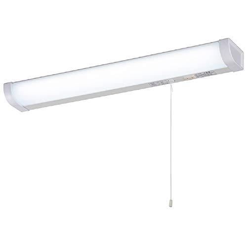オーム電機 LED流し元灯 20形 昼光色 引きひもスイッチ 電源コード付 LT-NKL14D-HS 06-4021 OHM