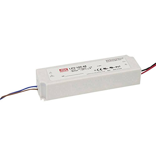 Mean Well LPV-100-5 LED-Trafo Konstantspannung 60W 0-12A 5 V/DC Nicht dimmbar, PFC-Schaltkreis, Ü