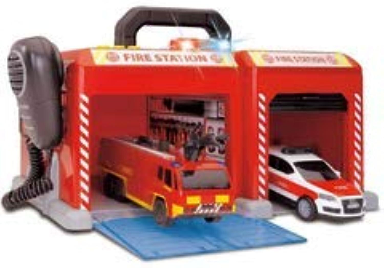 comprar descuentos Dickie SOS SOS SOS Station Fire Rescue con 2vehículos cm.14, Luces y Sonidos, Color, 203716013038  protección post-venta