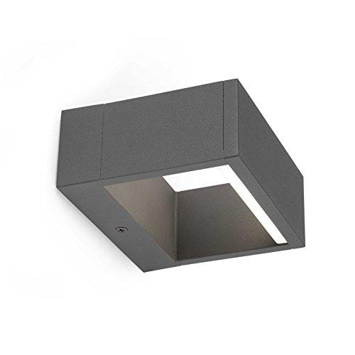 Faro Barcelona 74450 - ALP Aplique (bombilla incluida) LED, 8W, aluminio inyectado...