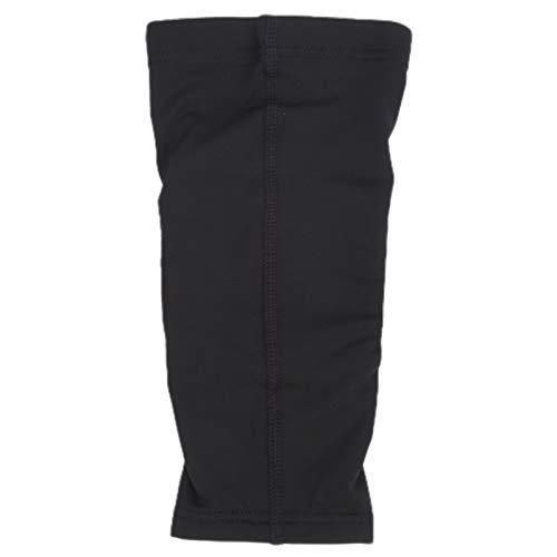Fybida Cómodo Protector de Codo Deportivo Negro de Tela Suave y Transpirable de Secado rápido, Equipo de protección para Ejercicios(M)