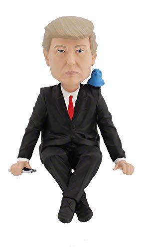 Royal Bobbles - Muñeco cabezón de Donald Trump - Figura para el Ordenador - Media Monitor