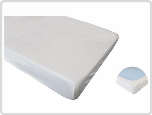 Spannbettschutz Spannbettlaken Matratzenschutzbezug, Spannbettlaken Matratzenschoner PVC wasserundurchlässig wasserdicht 90x200 *Top-Qualität zum Top-Preis*