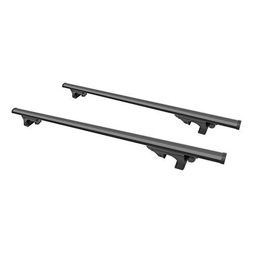 CURT 18118 53-3/8-Inch Black Aluminum Universal Roof Rack Cross Bars, 2-Pack