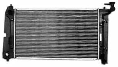 TYC 2428 Toyota 1-Row Plastic Aluminum Replacement Radiator